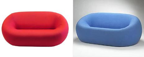 gaetano pesce up4 sofas Gaetano Pesce UP4 Sofa   the great visual impact