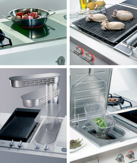 gaggenau modular cooktop options Modular cooktops from Gaggenau   custom cooktops
