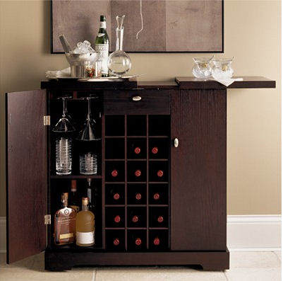 Galerie Spirits Cabinet From Crate Barrel A Modern Bar