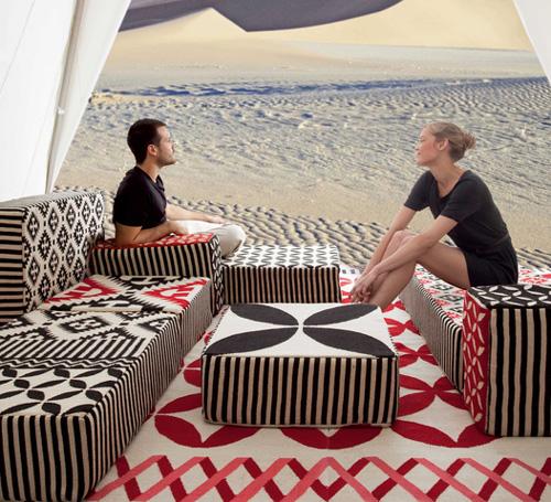 gandia blasco collection gan spaces 3 Bold Patterns Design by Gandia Blasco