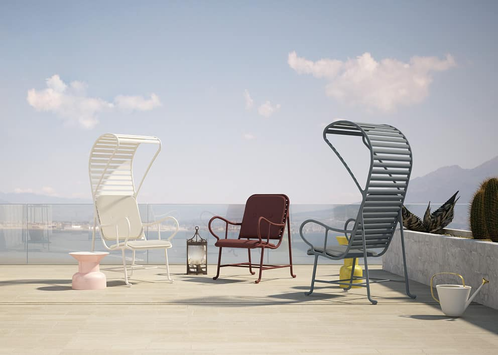Lovely Gardenias Garden Furniture From Barecelona Design