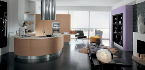 Contemporary Kitchen From Gatto Cucine The Samal