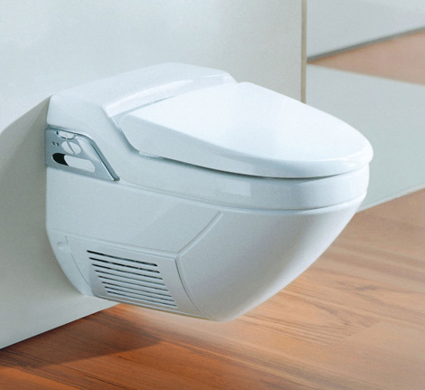 geberit shower toilet balena 1 Shower Toilet from Geberit   new Balena 8000 wall mounted alternative to a bidet