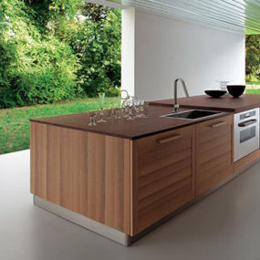 Contemporary kitchen from Ged Cucine – the Fiamma kitchen