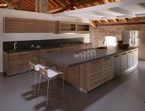 ged cucine fiamma kitchen island Contemporary kitchen from Ged Cucine   the Fiamma kitchen