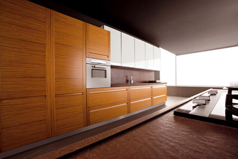 Teak Kitchen from Ged Cucine - Treviso