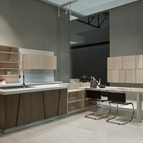 Geometric Kitchen Design by Grattarola