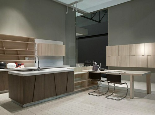 geometric kitchen design grattarola 1 Geometric Kitchen Design by Grattarola