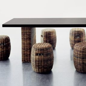 Rattan Furniture from Gervasoni by designer Paola Navone – simply adorable