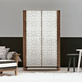 Silk Screen Mirror Furniture from Gervasoni for any room