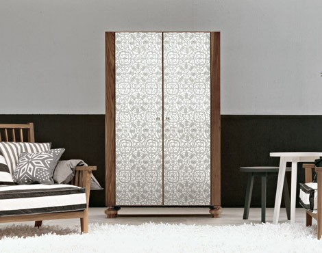gervasoni storage unit gray 67 Silk Screen Mirror Furniture from Gervasoni for any room