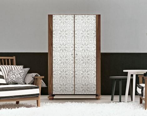 gervasoni storage unit gray 67 Silk Screen Mirror Furniture from Gervasoni for any room