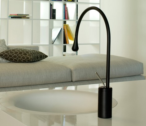 gessi faucet drop 1 Gessi Taps   new Drop (Goccia) bathroom range