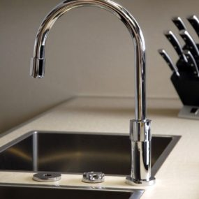 Kitchen Mixers by Gessi Use Photocells – Progressive