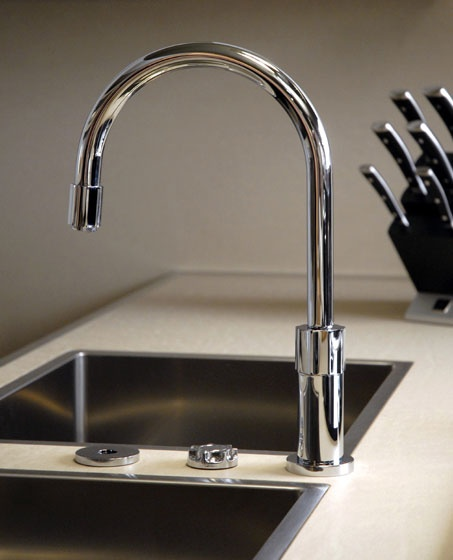 Kitchen Mixers By Gessi Use Photocells