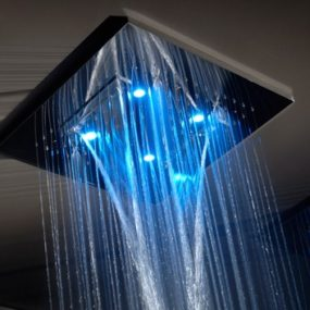 Luxury Shower from Gessi – Private Wellness line of multi-functional rain showers