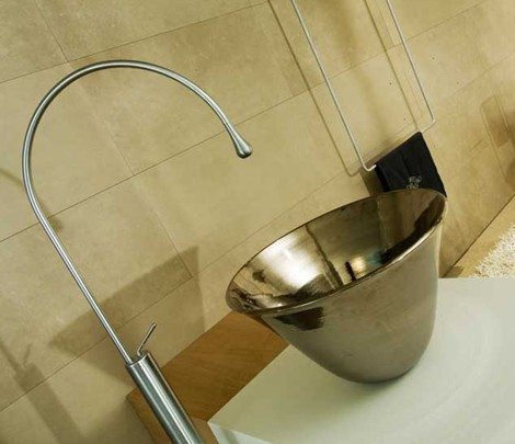 gessi vessel sink faucet 1 Cool Vessel Sinks and Faucets from Gessi