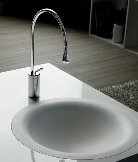 gessi vessel sinks faucets 3 Cool Vessel Sinks and Faucets from Gessi
