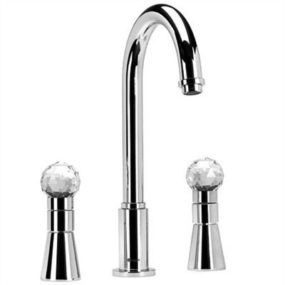 Luxury Faucets by Giampieri – Swarovski Strass Crystal faucets