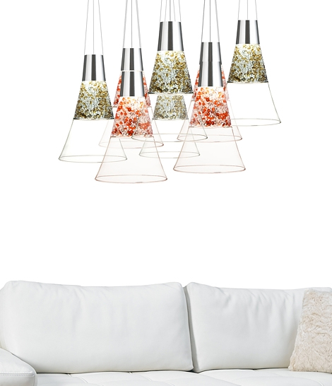 giant champagne glass lamps mood moise 1 Giant Champagne Glass Lamps by Moise