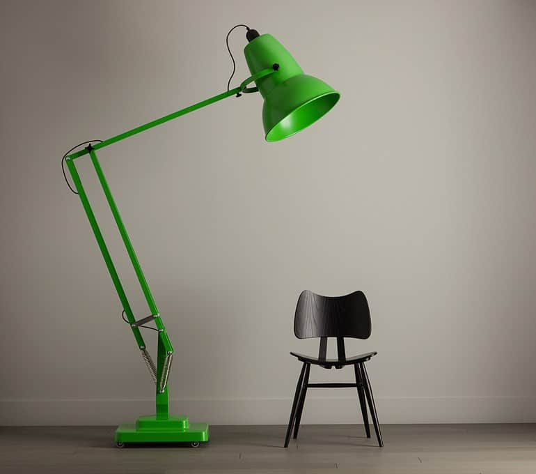View In Gallery Giant Lamp Green Thumb 630x556 14892 Giant Adjustable Floor  Lamp With Dimmer By Anglepoise