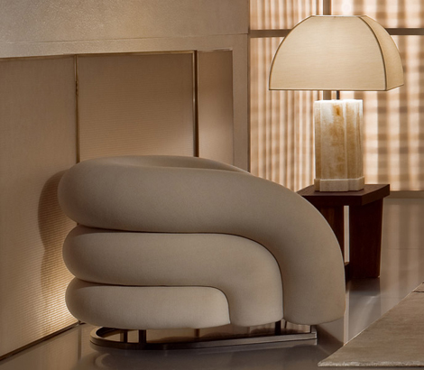 giorgio armani furniture baloon 1 Luxury Furniture by Giorgio Armani