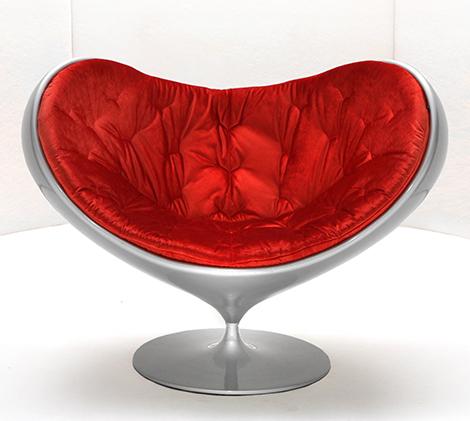 Swivel Fiberglass Chair By Giovannetti Armchair Love