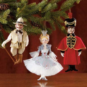 FAO Schwarz Christmas Tree Ornaments – handmade ornaments