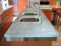 Glass Countertops – give your kitchen a high-end look