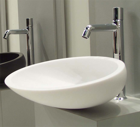 glass design wash basins Glass Wash Basins by Glass Design   Moon
