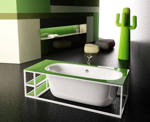 glass idromassaggio naked tub 1 Modern Bathtub Design by Glass Idromassaggio