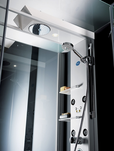 glass idromassaggio shower cabin 3