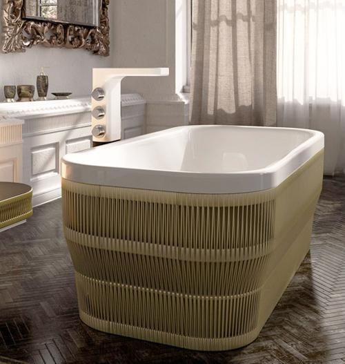 glass idromassagio freestanding acrylic bathtub hilo 1 Freestanding Acrylic Bathtub by Glass Idromassagio