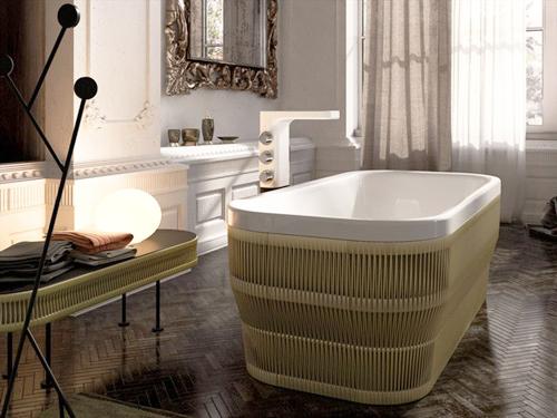 glass idromassagio freestanding acrylic bathtub hilo 2 Freestanding Acrylic Bathtub by Glass Idromassagio