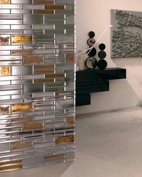 Kitchen Partition Wall Ideas: Decorative Glass Partitions By Poesia