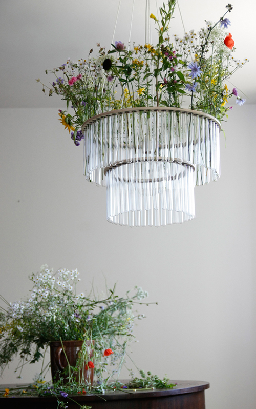 glass tube chandelier maria gang design 2