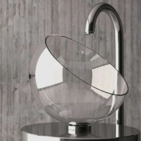 Glass Wash Basins by Glass Design – Moon