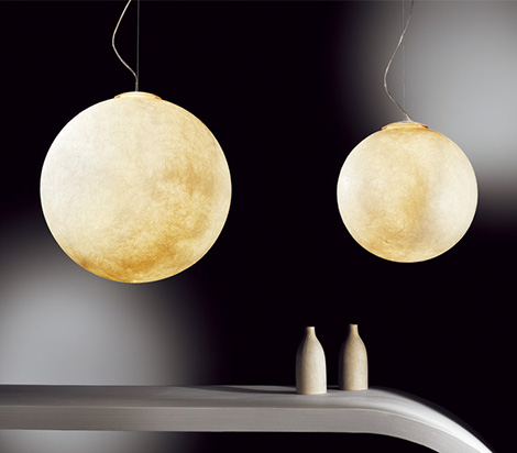 globe pendant light giant moon ocilunam 2.jpg Globe Pendant Light   giant pendant light Moon by In es.artdesign