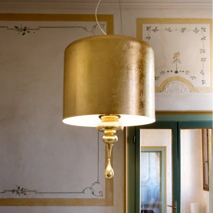 gold lamps golden lamp shades masiero eva 2