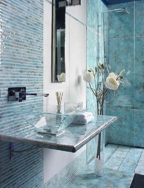 gold silver enamel tiles acquario 5 Gold and Silver Enamel Tiles by Acquario