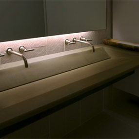 Recycled Concrete Sink by Gore Design – interesting custom work