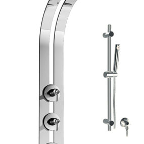 Graff Ski Shower with Thermostatic Valve – this ingenious shower remembers your preffered water temperature