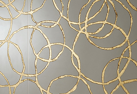 Gold Decorative Tiles - ceramic tile design ideas by Graniti Fiandre