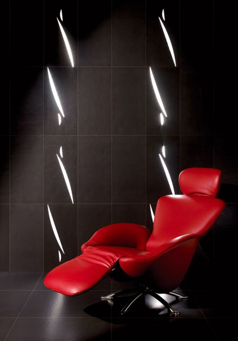 granitifiandre tiles light shape 3 Lighted Tiles from GranitiFiandre   Light Shape