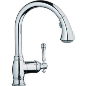 New Grohe kitchen faucet – the Bridgeford pull-out transitional faucet