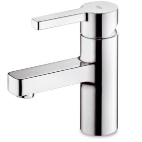 New Grohe bathroom faucets collection – Lineare, the cubic water outlet