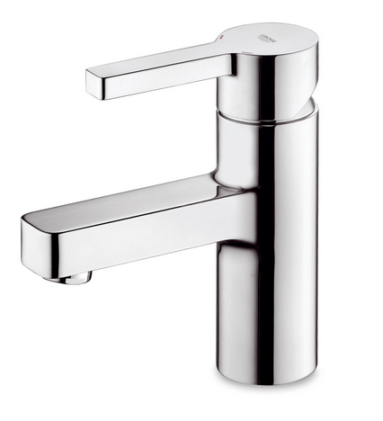 New Grohe Bathroom Faucets Collection Lineare The Cubic Water Outlet - Bathroom faucet outlet