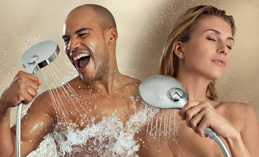 Grohe Power&Soul Shower Head: Customizable Contemporary