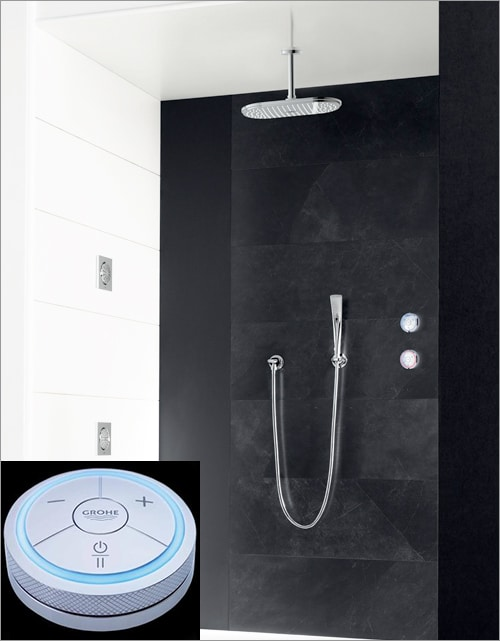 grohe rainshower solo digital shower 1 Grohe Veris and Grohe Rainshower Solo go digital, wireless