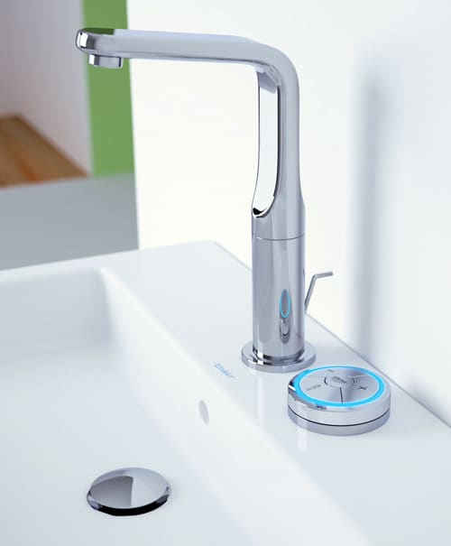 grohe veris digital faucet 1 Grohe Veris and Grohe Rainshower Solo go digital, wireless